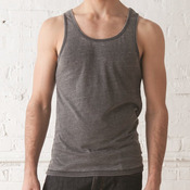 19 Seventies Jersey Burnout Shaggy Tank