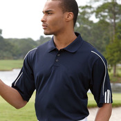 Golf ClimaLite 3-Stripes Cuff Polo