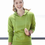 Ladies' ''V'' Hooded Pullover