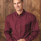 Long Sleeve Stain Resistant Twill Shirt