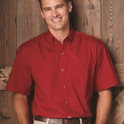 Short Sleeve Stain Resistant Twill Shirt
