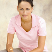 SpotShield 50/50 Ladies' Johnny Collar Polo