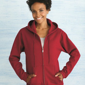 Heavy Blend Ladies' Full-Zip Hooded Sweatshirt