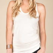 Ladies' Vintage Burnout Racerback Tank