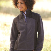 Ladies' Telluride Nylon/Polarfleece Jacket
