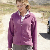 Ladies' Lightweight Microfleece Full-Zip Jacket